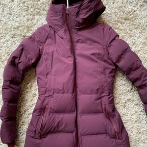 Lululemon sleet street jacket sz 6